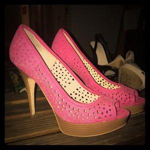 Like new pink heels